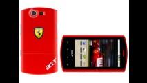 Empresa desenvolve smartphone com toques da Ferrari
