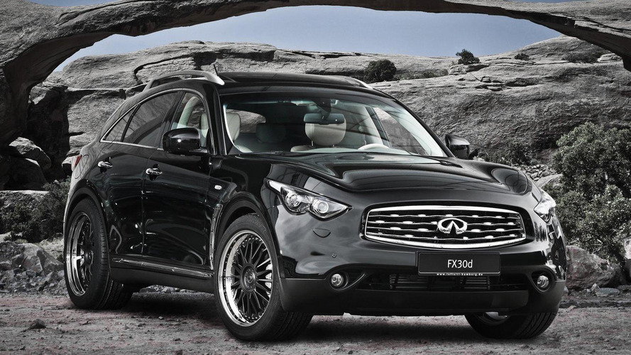 Infiniti FX 30dS tuned by AHG Sports