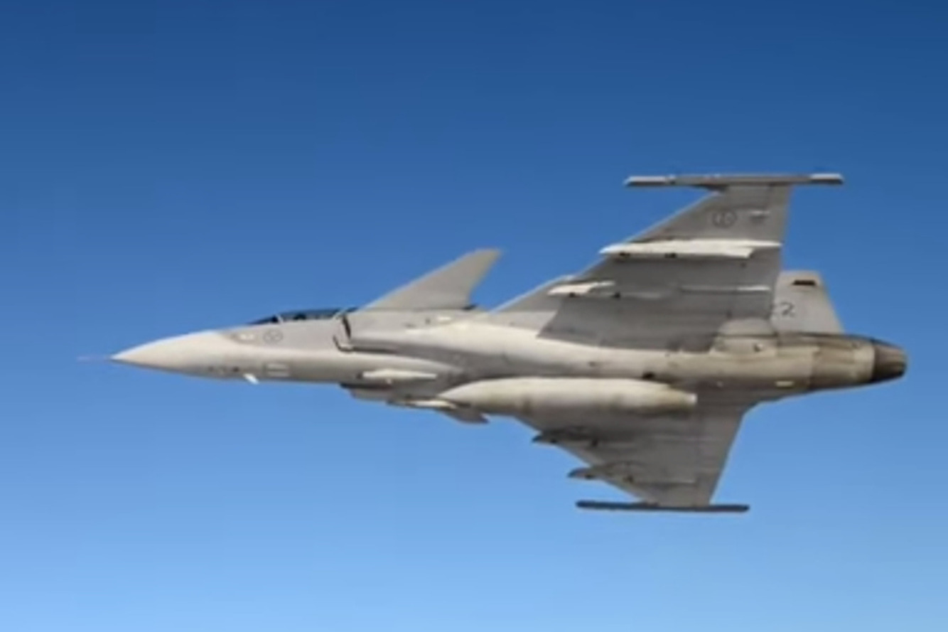 Saab's Gripen Fighter Jet Becoming Popular Alternative to Larger Jets? [w/video]
