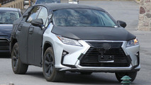 Lexus RX three-row crossover spied for a second time