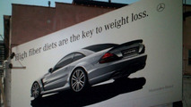 Mercedes SL 65 AMG Black Series Outdoor Adverts