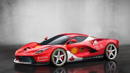 Galeria - 10 superesportivos com a pintura da Fórmula 1