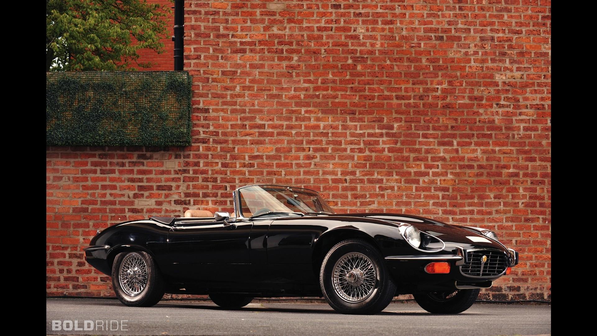 Jaguar E-Type V-12 Commemorative Edition Convertible