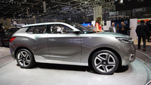 SsangYong unwraps SIV-1 concept in Geneva