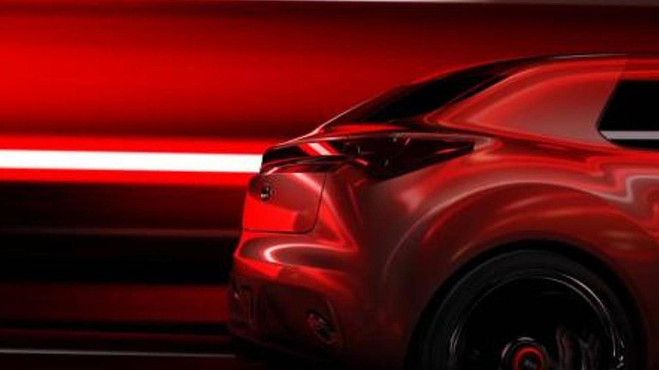 Kia concept teaser for 2013 Geneva Motor Show