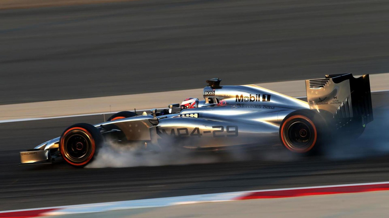 Kevin Magnussen 19.02.2014 Formula One Testing Bahrain