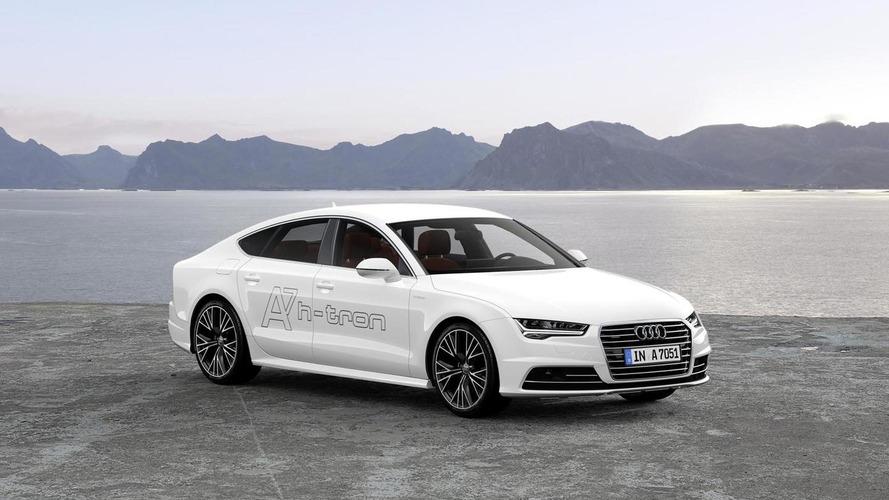 Audi A7 Sportback h-tron quattro concept debuts at Los Angeles Auto Show [video]