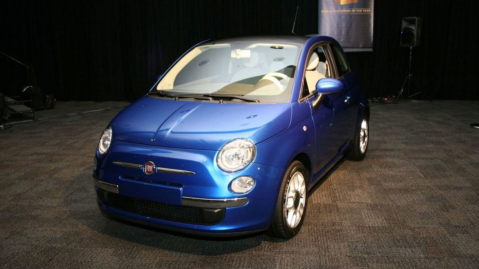 Fiat 500 Declared 2009 World Car Design of the Year