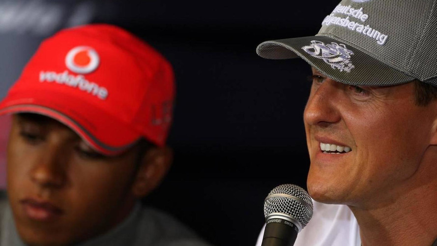 'No value' in beating Schumacher now - Hamilton