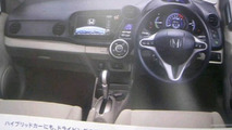 2009 Honda Insight Leaked Brochure Includes Sporty Modulo Version