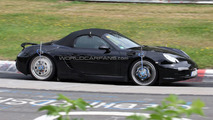 New Porsche Boxster Spied on Nurburgring