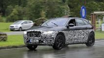 Jaguar J-Pace test mule spy photo