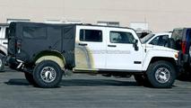 SPY PHOTOS: Hummer H3T