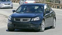 New Honda Accord sedan spy photo