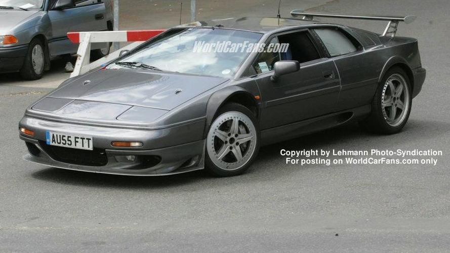 Spy Photos: New Lotus Esprit with BMW Power