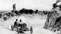 Targa-Florio April 27 1924. The winner Christian Werner