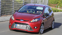 2011 Ford Fiesta ST spied testing near the Ring