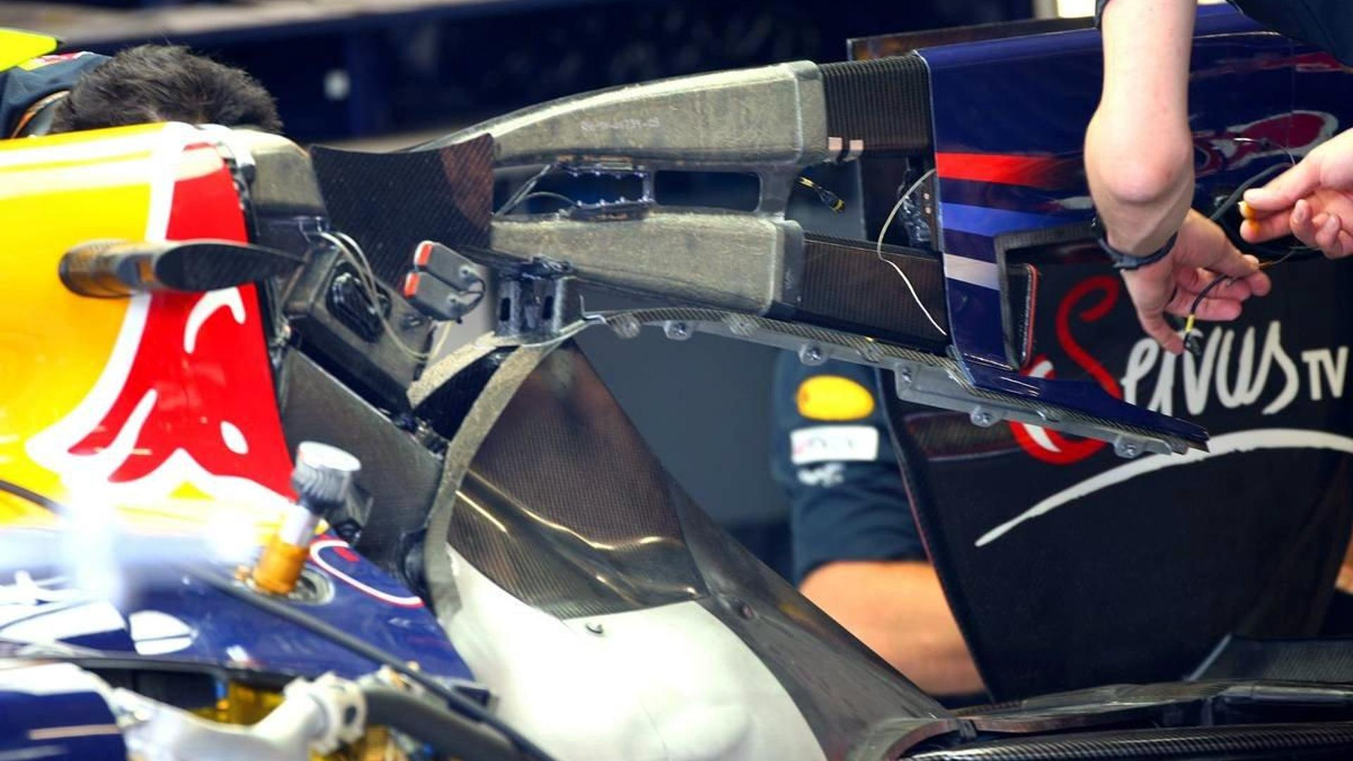 Red Bull not using F-duct in Hungary