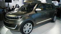 Kia KV7 Concept revealed in Detroit