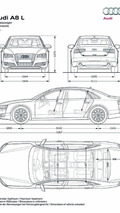 2011 Audi A8 L announced - keeps W12 engine