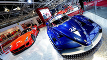 Ferrari 458 Challenge and Enzo FXX at Bologna Motor Show 02.12.2010