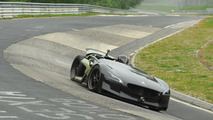 Peugeot EX1 concept at the Nurburgring - 5.5.2011