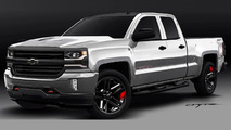 Chevrolet Colorado & Silverado 1500 Red Line Series concepts teased