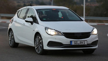 Opel Astra GSI spy photo
