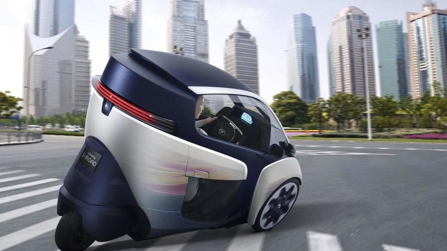 Toyota i-Road concept revealed before Geneva arrival