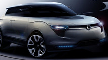 Ssangyong XIV-1 Concept CUV rendering 02.09.2011