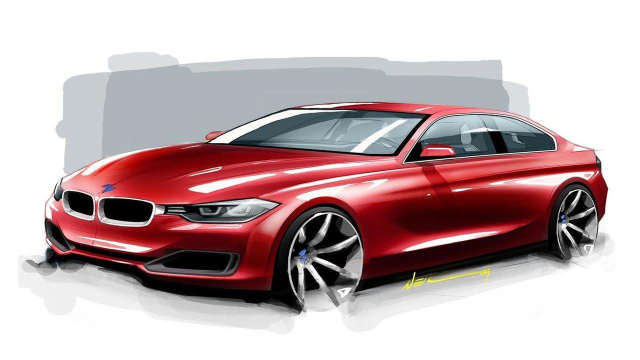 2012 BMW 3-Series design renderings 14.10.2011