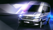 Volkswagen Crafter Renderings