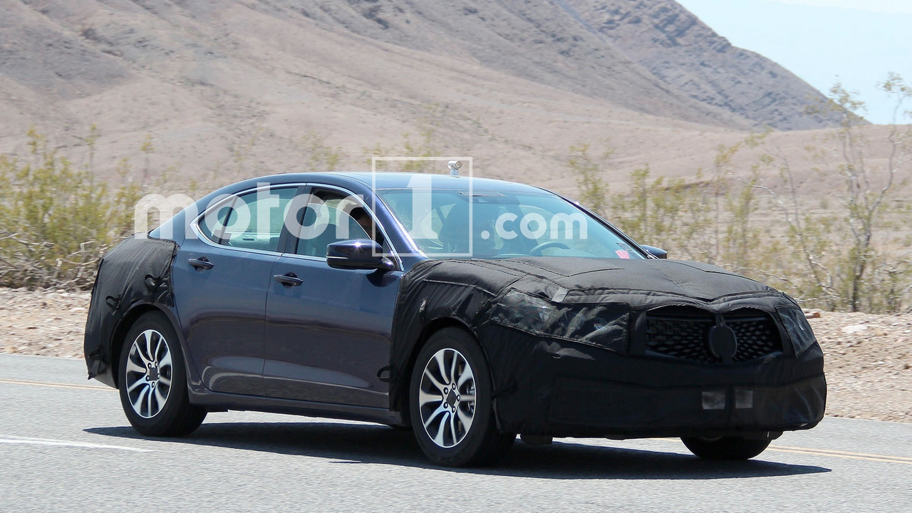 ... .com - Spied: 2018 TLX Facelift Caught Testing with New Acura Grille