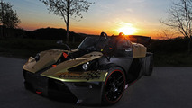 KTM X-BOW GT Dubai Gold Edition by Wimmer is a flashy 485 PS track beast