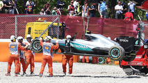"""Optimistic"" Hamilton to blame for Barcelona clash, says Montoya"