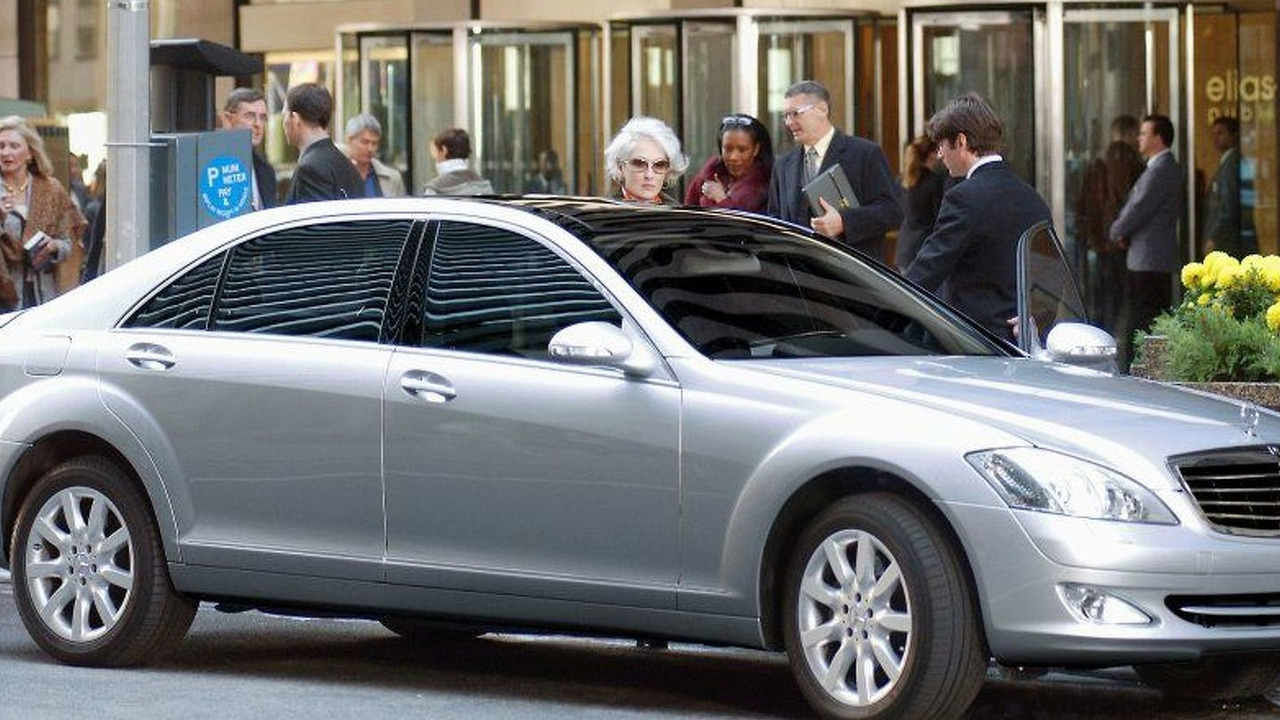 New S-Class in The Devil Wears Prada