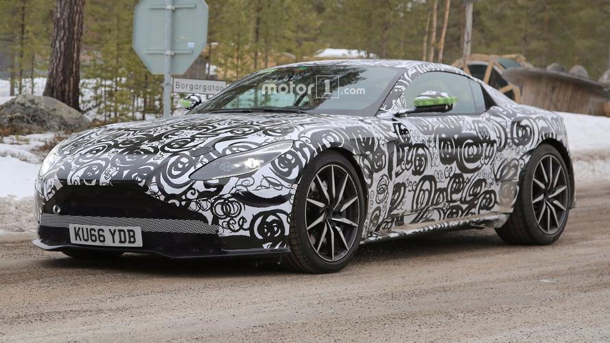 Aston Martin DB11 S spy photos