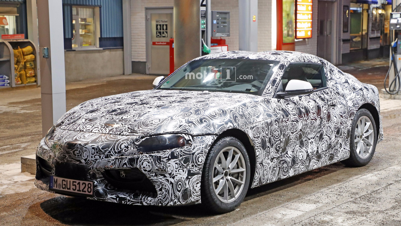 2018 Toyota Supra spy photo photo