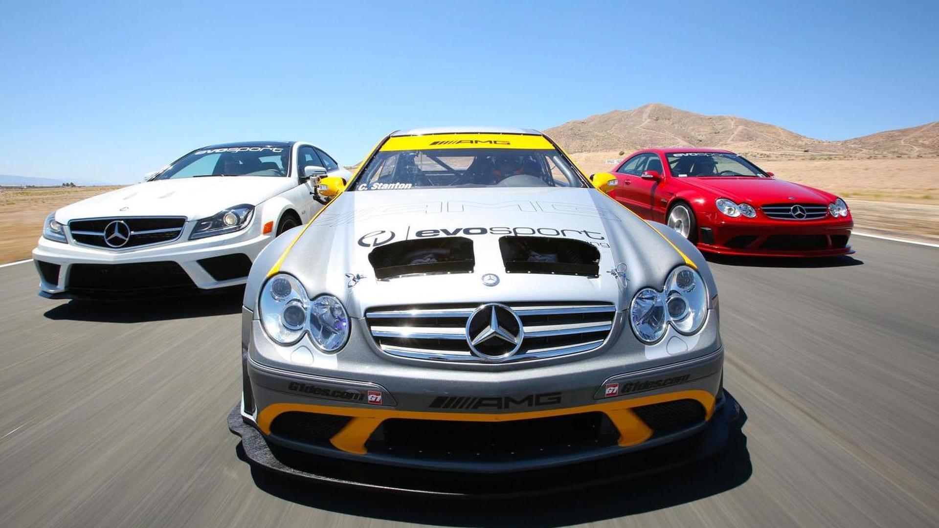 MBBS-Evosport Mercedes CLK 63 AMG Black Series race car revealed