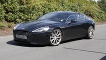 Aston Martin Rapide facelift spied virtually undisguised