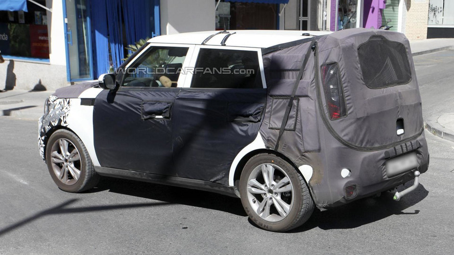 2014 Kia Soul spied showing new details