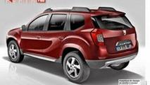 2017 Dacia Duster rendering / Auto Plus magazine