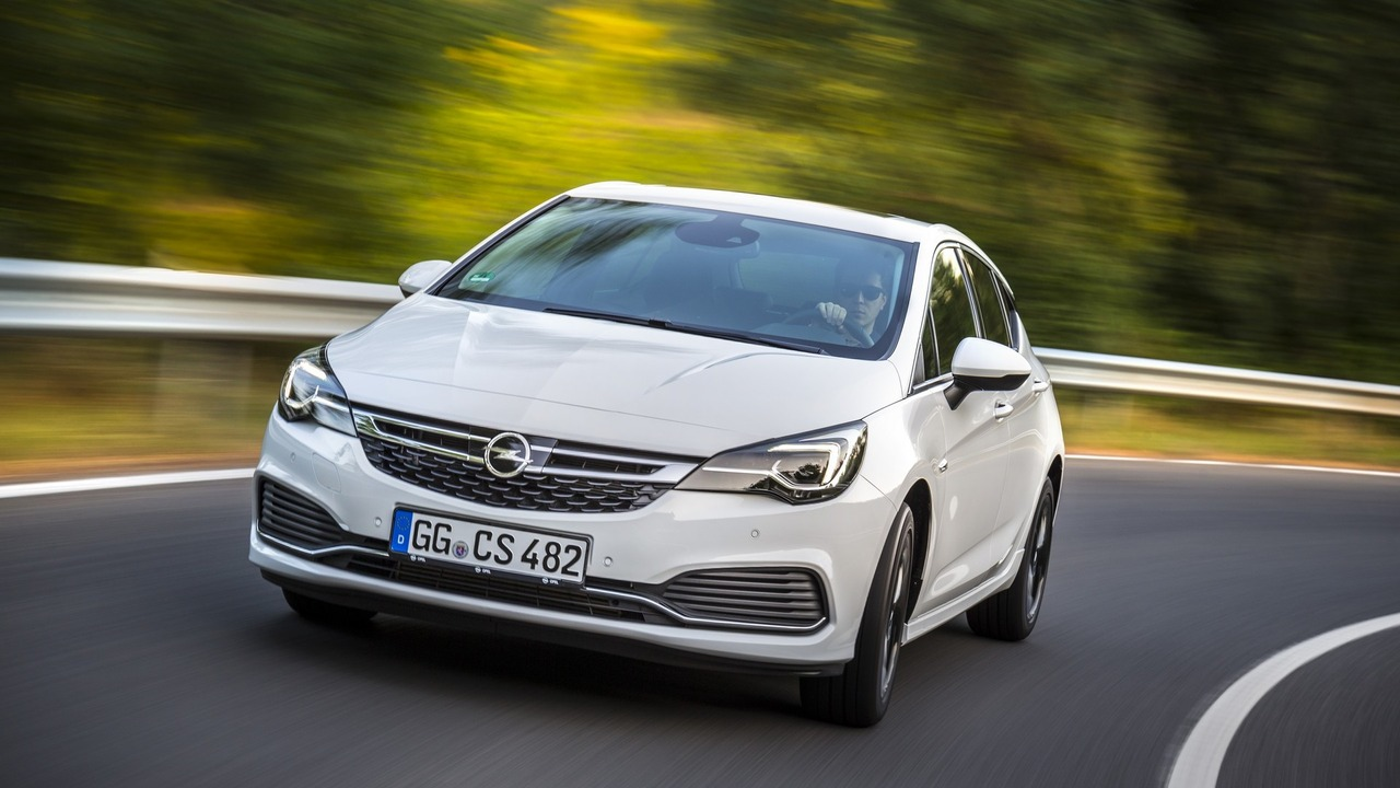 Opel Astra OPC Line Sport Pack