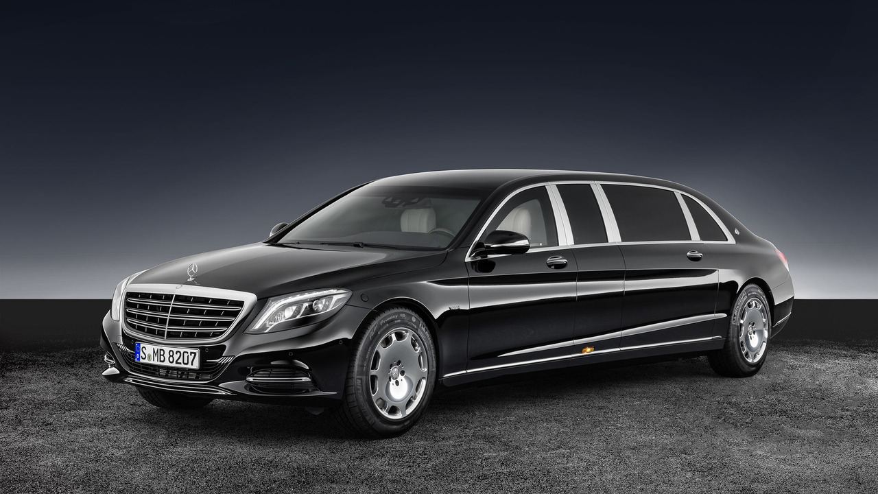 Mercedes Maybach S600 Pullman Guard Is 5 6 Tons Of