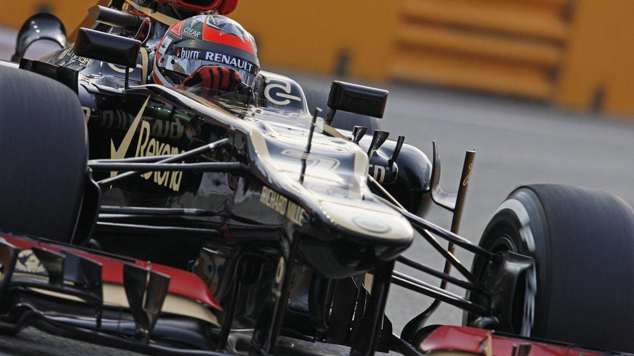 Kimi Raikkonen 20.09.2013 Singapore Grand Prix