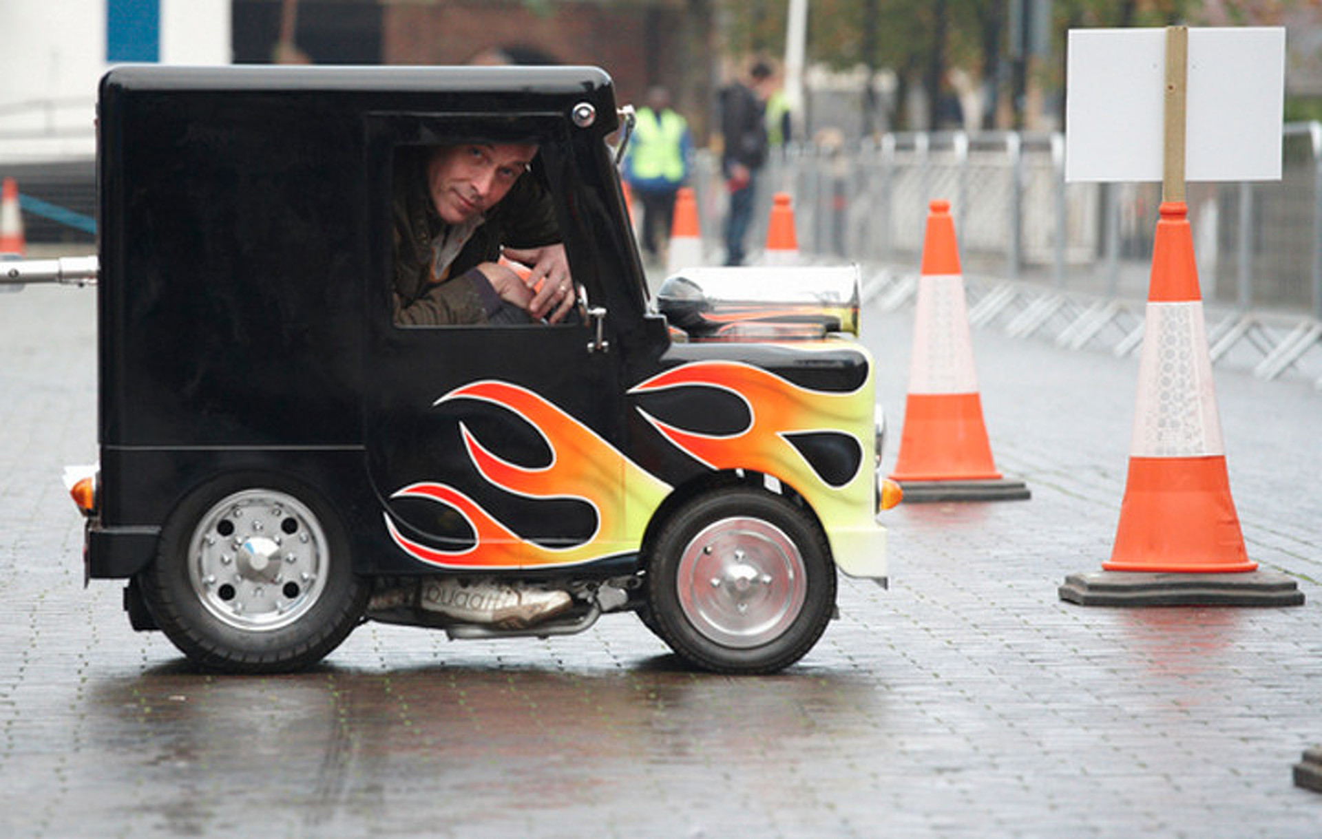 "UK's ""Wind Up"" Still World's Smallest Roadworthy Automobile"