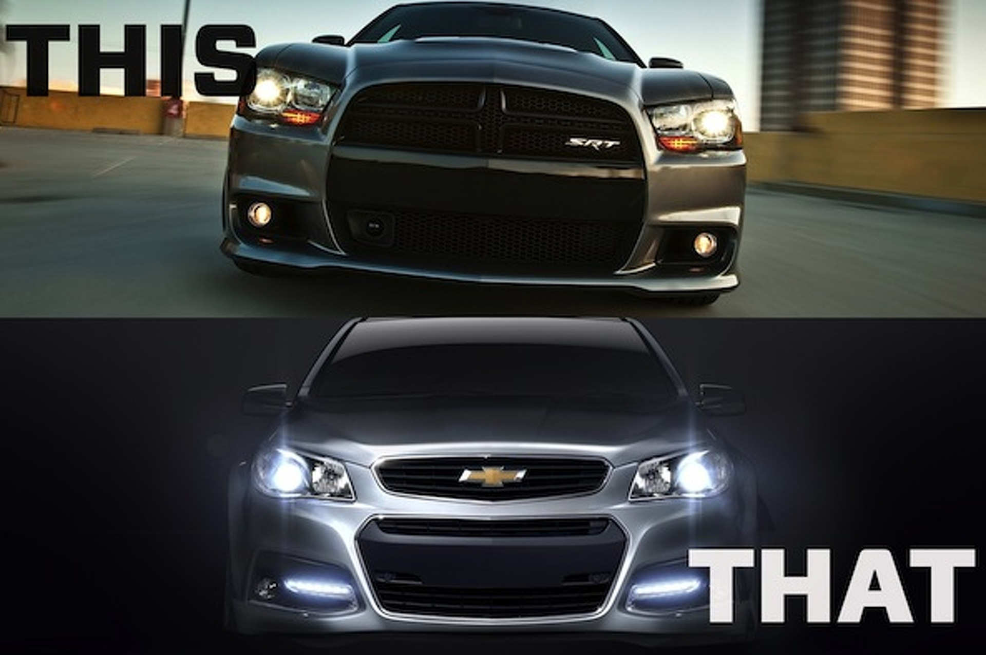 This or That: Dodge Charger SRT8 or Chevrolet SS