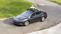Acura RLX first-generation autonomous prototype