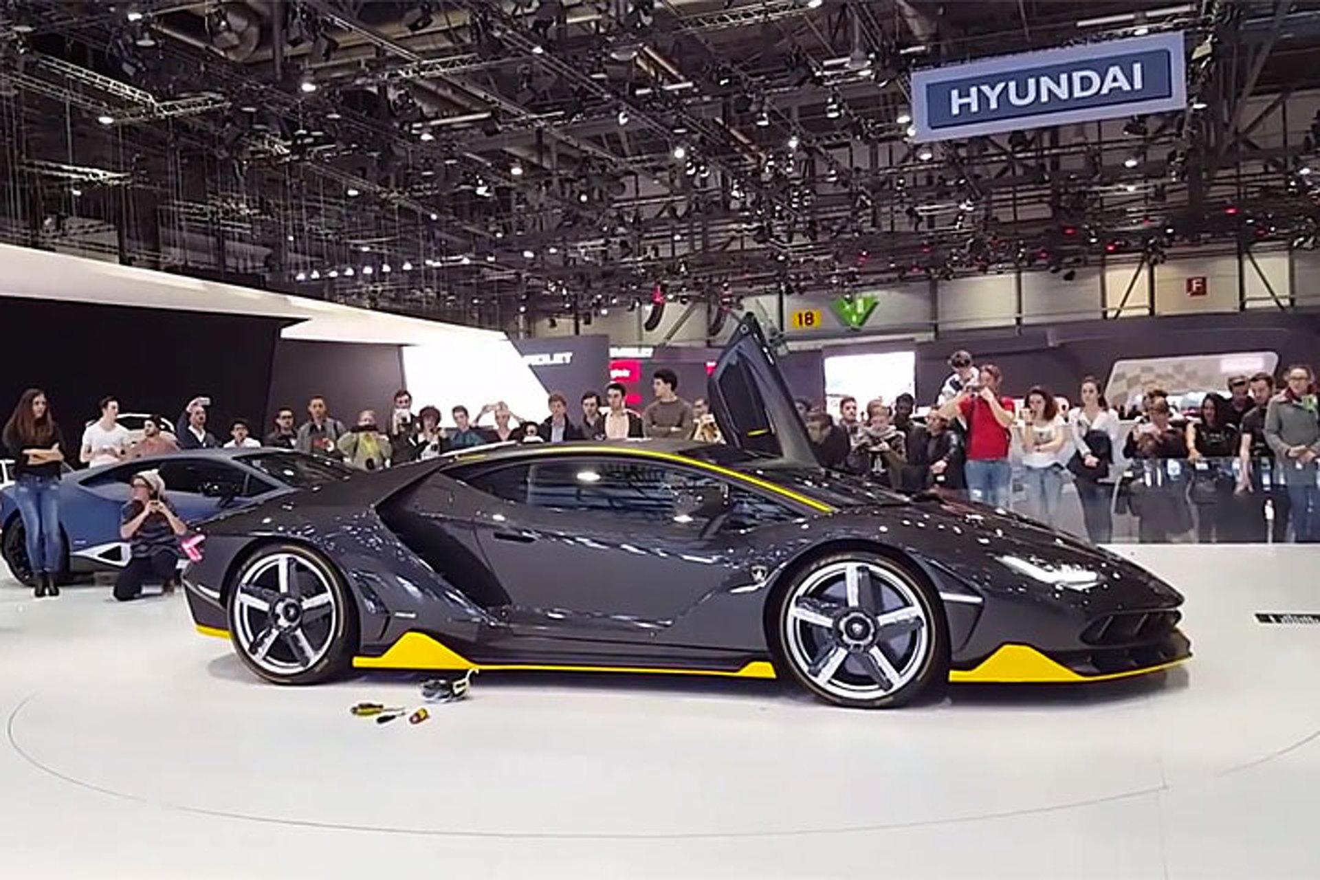 Listen to the Lamborghini Centenario Exercise its Vocal Cords