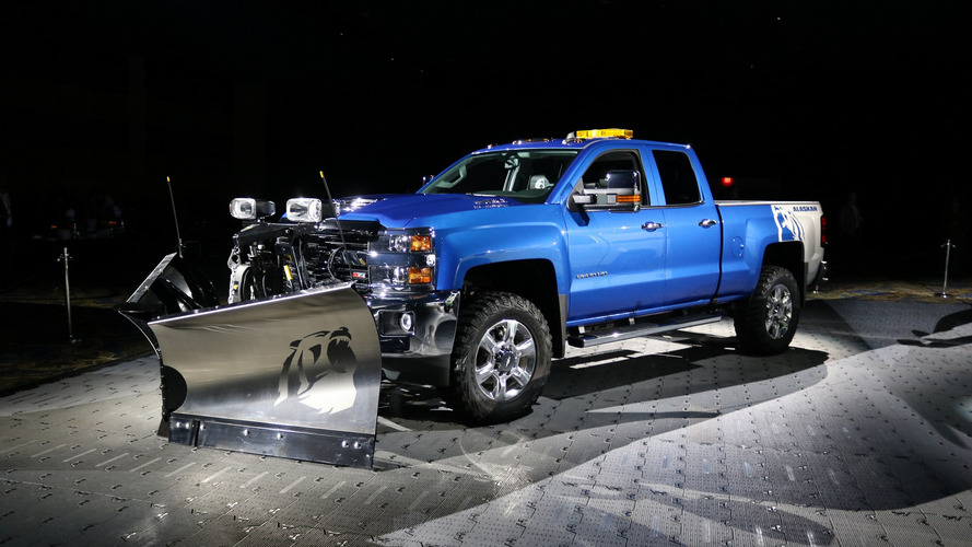 Chevy Silverado SEMA concepts are ready for winter and desert dunes